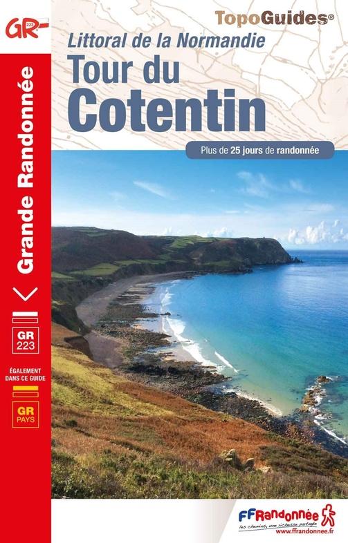 TG200  Tour du Cotentin  | wandelgids GR-223 9782751402593  FFRP Topoguides  Meerdaagse wandelroutes, Wandelgidsen Normandië