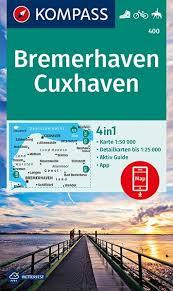KP-400  Bremerhaven, Cuxhaven 1:50.000 9783990446089  Kompass Wandelkaarten Kompass Duitsland  Wandelkaarten Bremen, Osnabrück, Emsland