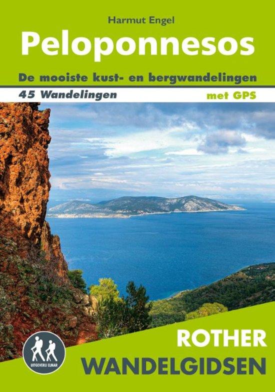 Peloponnesos - Rother Wandelgids 9789038926926  Elmar RWG  Wandelgidsen Peloponnesos