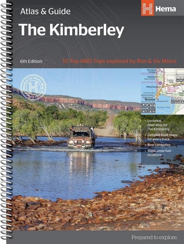 Kimberley | atlas & outdoor guide 9781876413644  Hema Maps   Wegenatlassen Australië