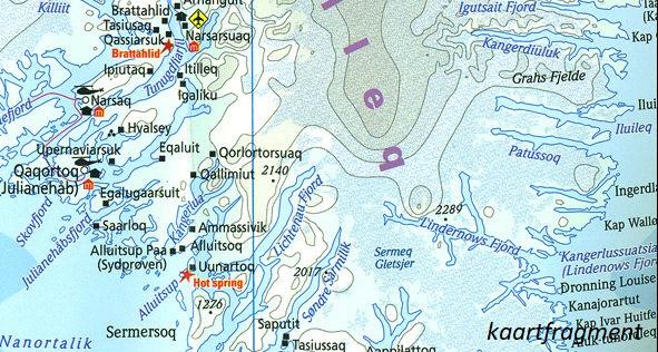 landkaart, wegenkaart Grönland (Groenland) 1:1.900.000 9783831774180  Reise Know-How WMP Polyart  Landkaarten en wegenkaarten Groenland