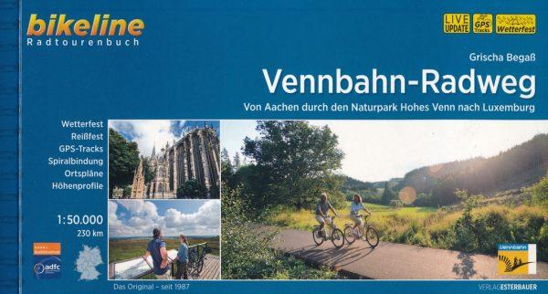 Bikeline Vennbahn Radweg | fietsgids 9783850007702  Esterbauer Bikeline  Fietsgidsen, Meerdaagse fietsvakanties Baden-Württemberg, Wallonië (Ardennen)