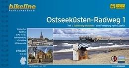 Bikeline Ostseeküsten-Radweg 1 | fietsgids 9783850007931  Esterbauer Bikeline  Fietsgidsen, Meerdaagse fietsvakanties Sleeswijk-Holstein