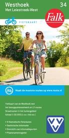 FFK-34 Westhoek België | VVV fietskaart 1:50.000 9789028730526  Falk Fietskaarten met Knooppunten  Fietskaarten Gent, Brugge & westelijk Vlaanderen