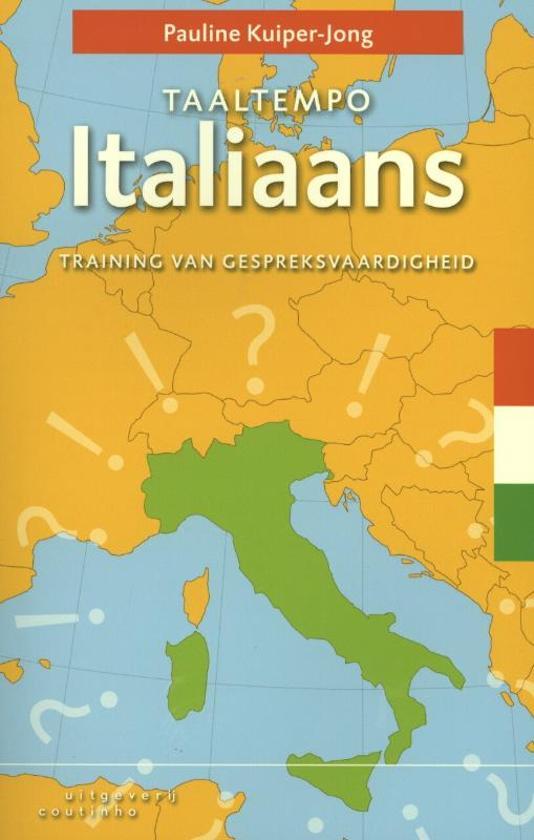 Taaltempo Italiaans 9789046903209 Pauline Kuiper-Jong Coutinho   Taalgidsen en Woordenboeken Italië