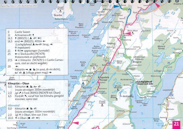Fietsroute Schotland Rond 1 | fietsgids 9789064558672 Europafietsers Pirola Pirola fietsgidsen  Fietsgidsen, Meerdaagse fietsvakanties Schotland