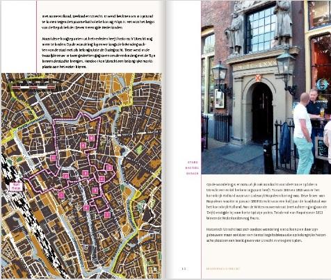 Utrecht acht keer anders   stadswandelingen 9789078641735 Gerard Goudriaan Gegarandeerd Onregelmatig   Wandelgidsen Utrecht