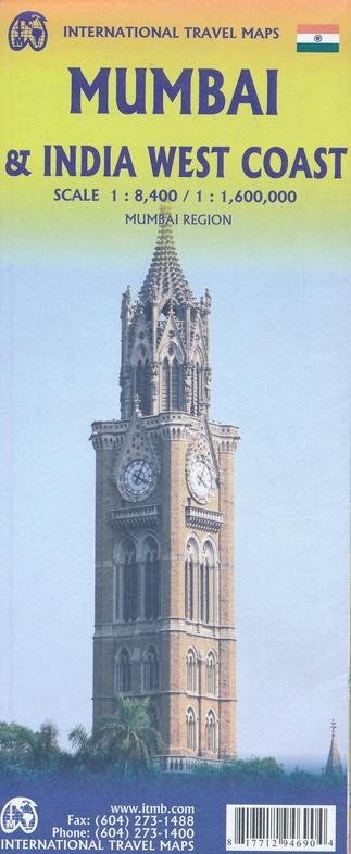 Mumbai (Bombay) 1:12.000 9781771294690  ITM   Stadsplattegronden India