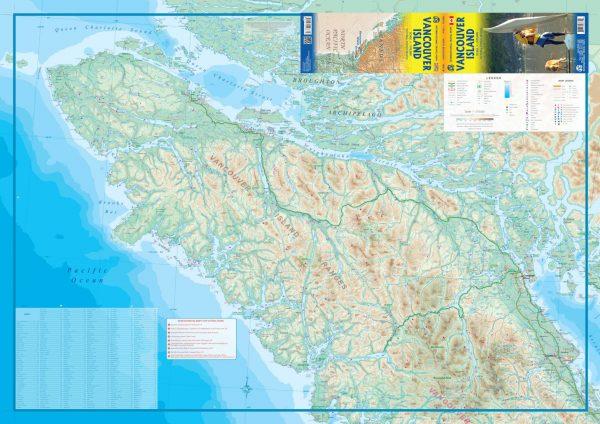 Vancouver Island  | landkaart, autokaart 1:270.000 9781771298711  ITM   Landkaarten en wegenkaarten West-Canada, Rockies