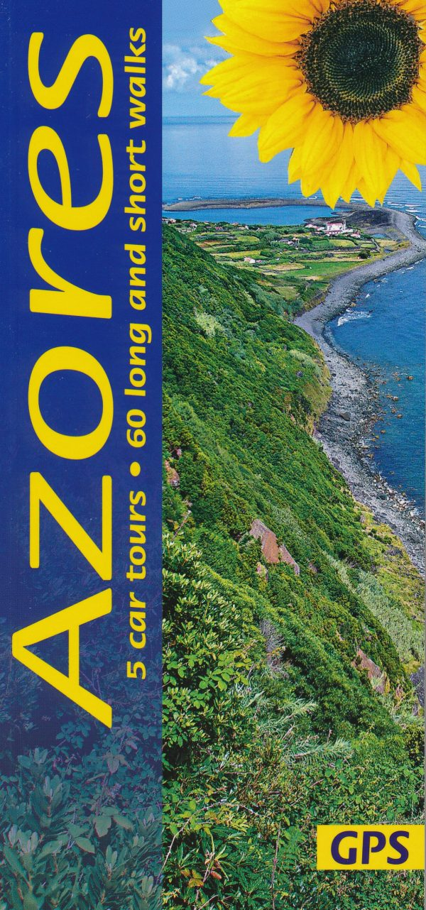 Sunflower Azores   wandelgids Azoren 9781856915120  Sunflower Landscapes  Wandelgidsen Azoren