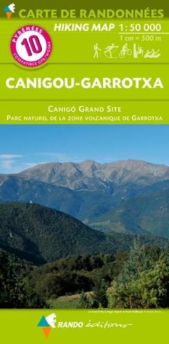 RP-10  Canigou 1:50.000 9782344031469  Rando Editions Randonnées Pyrénéennes  Wandelkaarten Franse Pyreneeën