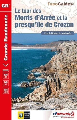 TG380  Monts d'Arrée - et la Presqu'île de Crozon | wandelgids 9782751403019  FFRP Topoguides  Meerdaagse wandelroutes, Wandelgidsen Bretagne