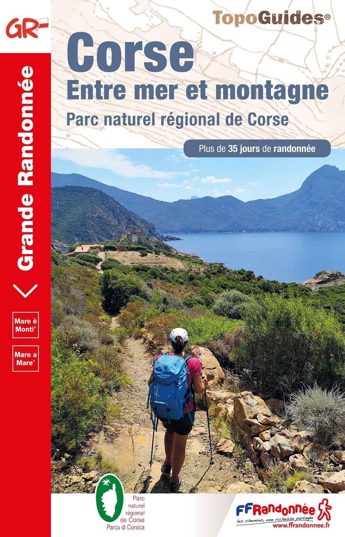 TG-065  Entre mer et montagne | wandelgids 9782751410512  FFRP topoguides à grande randonnée  Meerdaagse wandelroutes, Wandelgidsen Corsica
