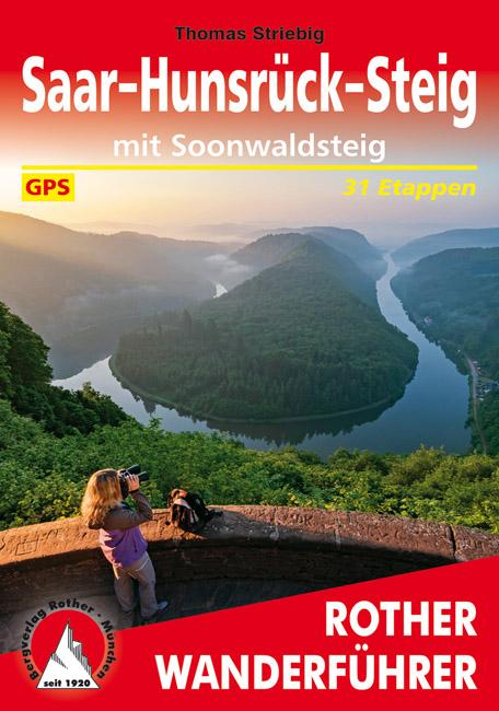 Saar-Hunsrück-Steig 9783763345212  Bergverlag Rother RWG  Meerdaagse wandelroutes, Wandelgidsen Saarland, Hunsrück