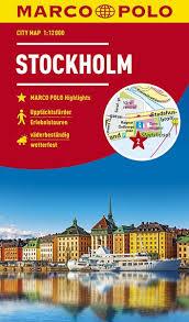 Stockholm stadsplattegrond 9783829741941  Marco Polo (D) MP stadsplattegronden  Stadsplattegronden Zuid-Zweden