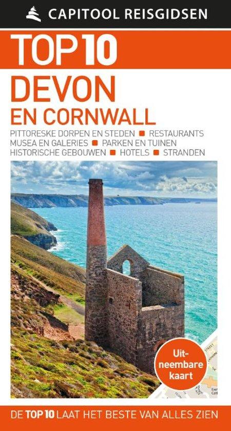 Capitool Top 10 Devon & Cornwall 9789000368655  Unieboek Capitool Top 10  Reisgidsen Cornwall, Devon, Somerset, Dorset