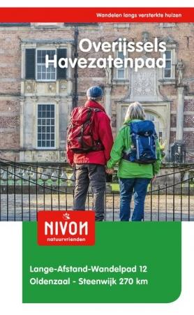 LAW 12  Overijssels Havezatenpad 9789491142123  Nivon LAW-Gidsen  Meerdaagse wandelroutes, Wandelgidsen Kop van Overijssel, Vecht & Salland, Twente
