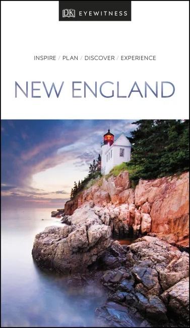 New England (Capitool Engels) 9780241365526  Dorling Kindersley Eyewitness Travel Guides  Reisgidsen New England