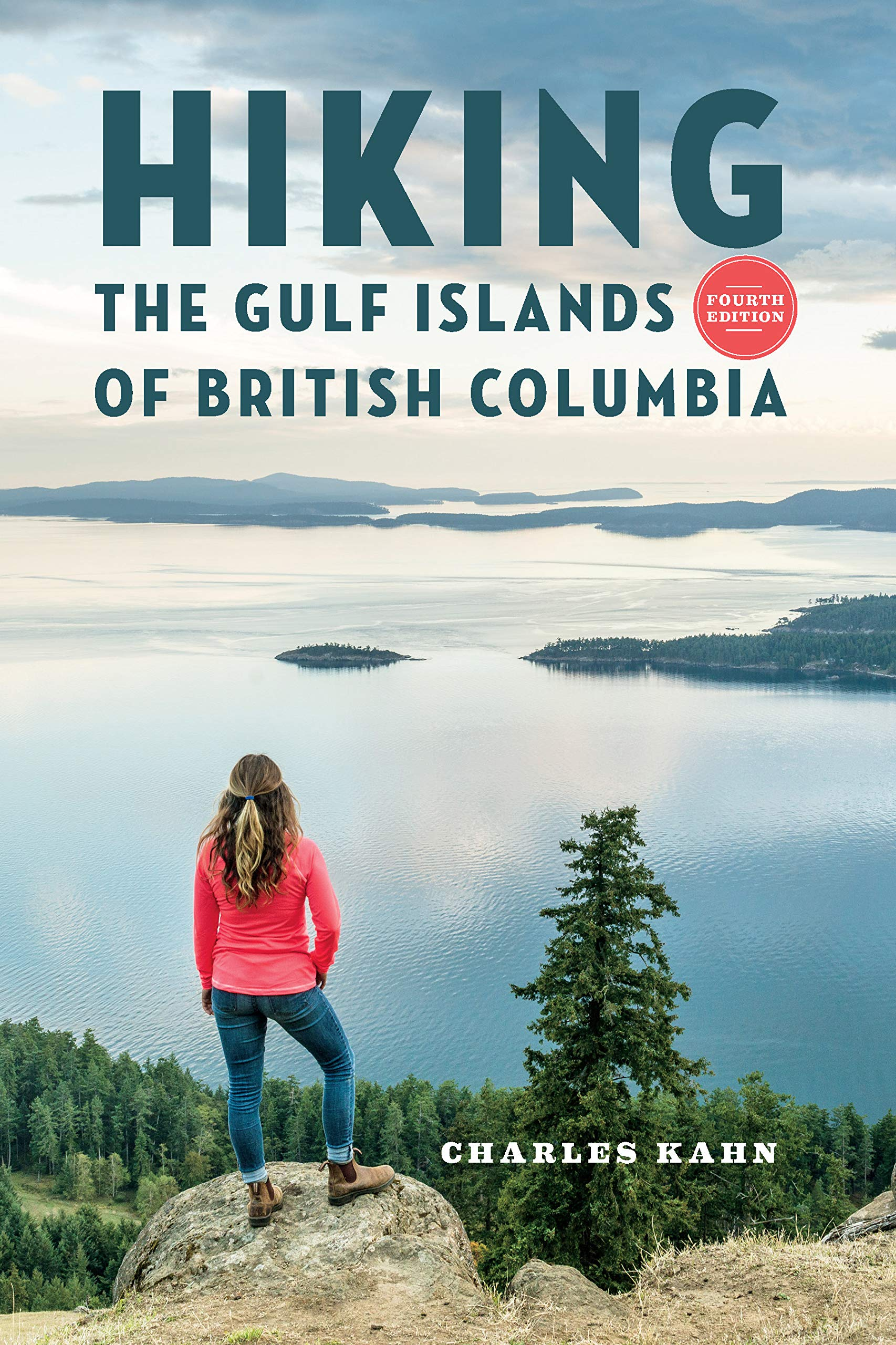 Hiking the Gulf Islands of British Columbia 9781550178258 Charles Kahn Raincoast   Wandelgidsen West-Canada, Rockies
