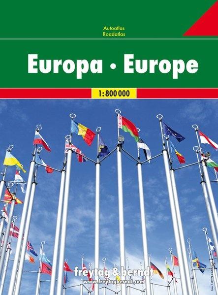 Wegenatlas Europa 9783707917703  Freytag & Berndt   Wegenatlassen Europa