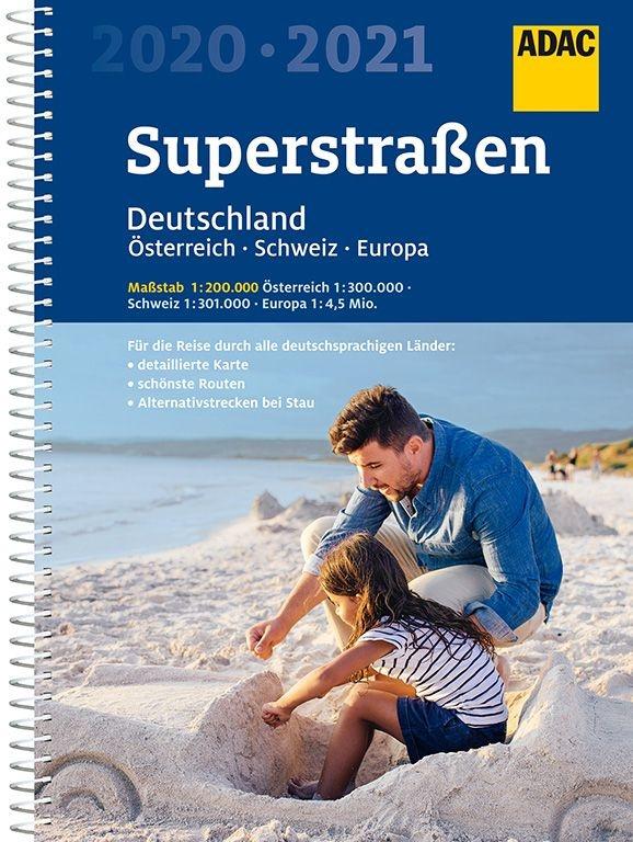 Deutschland, Österreich, Schweiz 1/200.000 9783826422621  ADAC Wegenatlassen  Wegenatlassen Duitsland