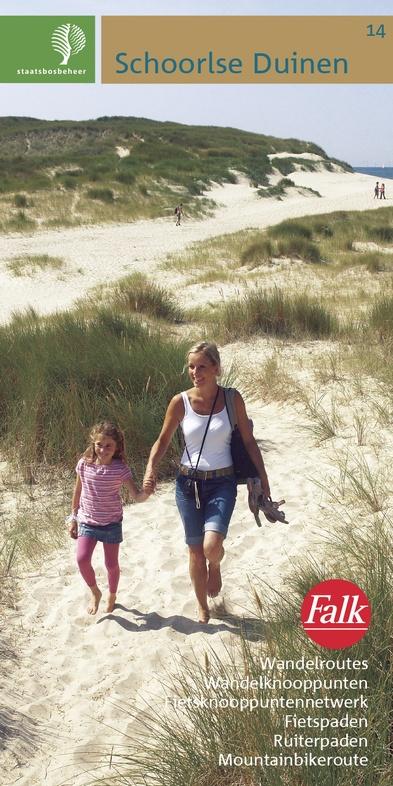 SBB-14  Schoorlse Duinen | wandelkaart 1:25.000 9789028700512  Staatsbosbeheer SBB kaart 1:25.000  Wandelkaarten Noord-Holland