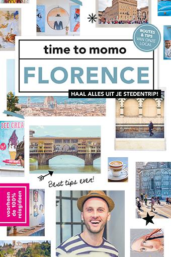 Time to Momo Florence (100%) 9789057678950  Mo Media Time to Momo  Reisgidsen Toscane, Florence