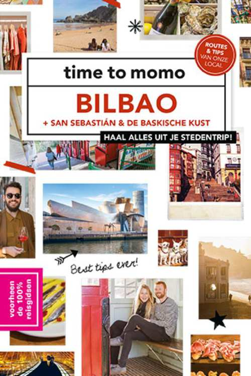 Time to Momo Bilbao (100%) 9789057678981  Mo Media Time to Momo  Reisgidsen Baskenland