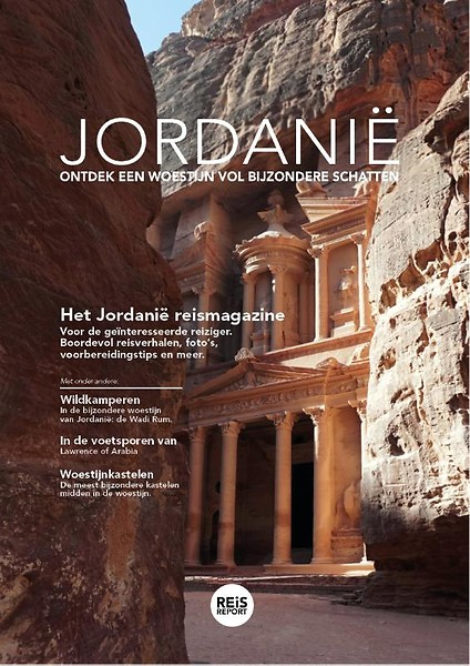 Het Jordanië reismagazine 9789082974546  REiSREPORT   Reisgidsen Syrië, Libanon, Jordanië, Irak