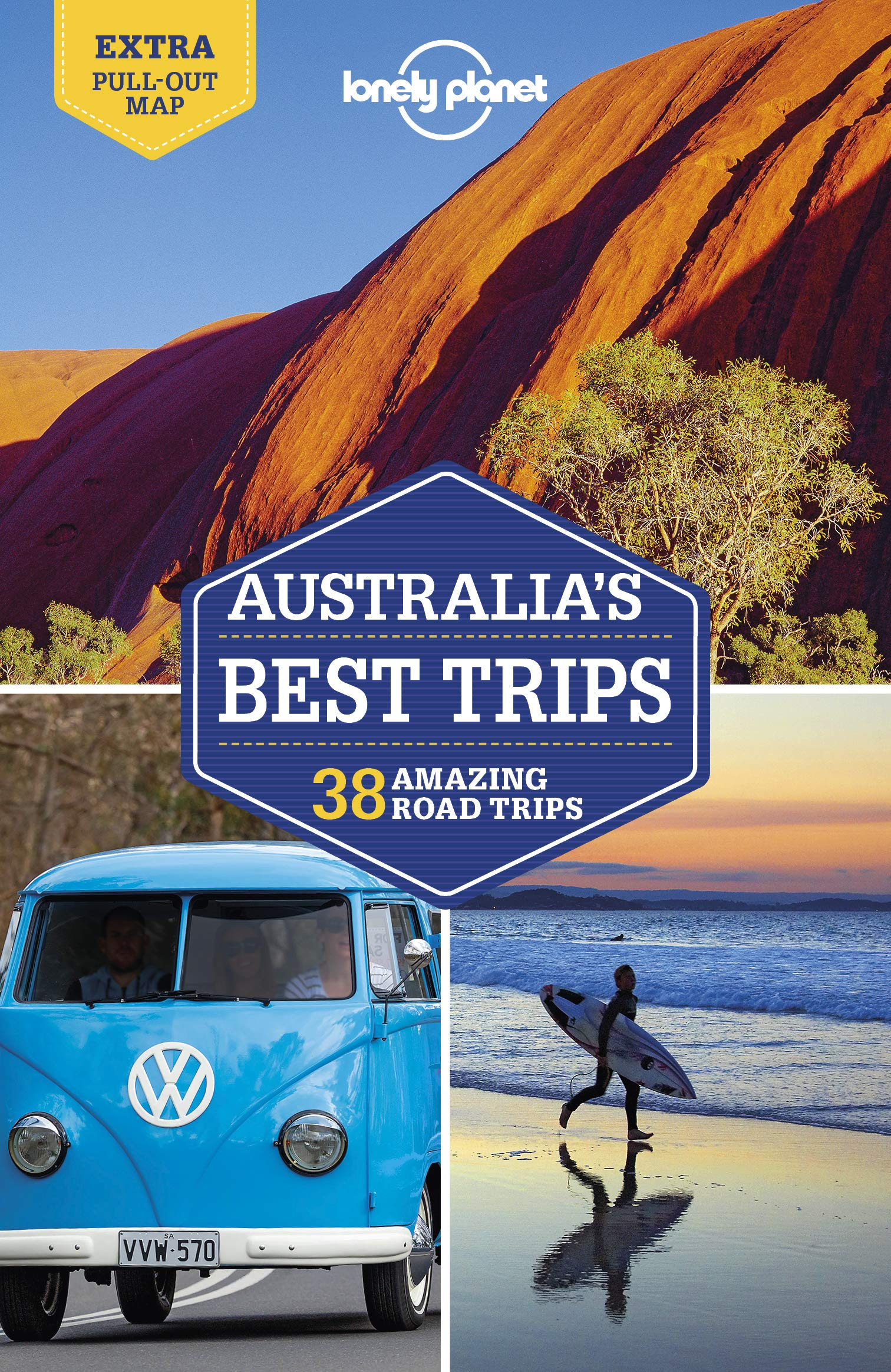 Lonely Planet Australia's Best Trips 9781786574947  Lonely Planet LP Best Trips  Reisgidsen Australië