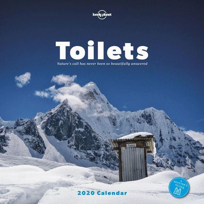 Lonely Planet Toilets Kalender 2020 9781788684880  Lonely Planet Kalenders 2020  Kalenders Reisinformatie algemeen