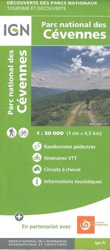Cevennen wandelkaart 1:50.000 Cévennes 9782758549017  IGN   Wandelkaarten Cevennen, Languedoc