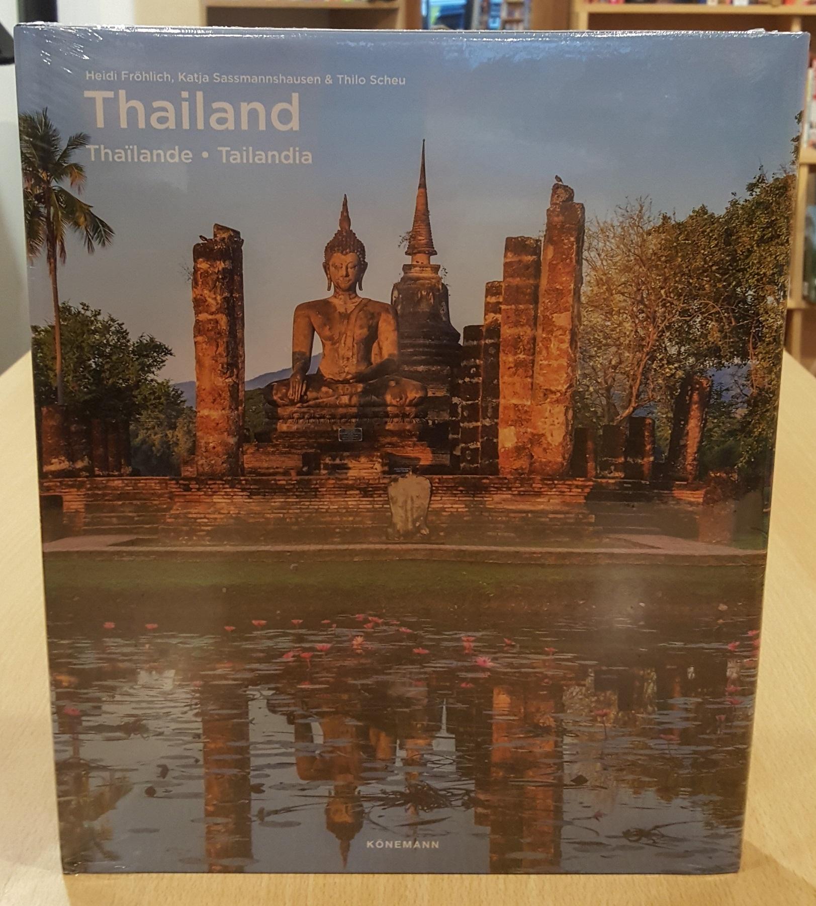 Thailand | fotoboek 9783741920288  Könemann   Fotoboeken Thailand