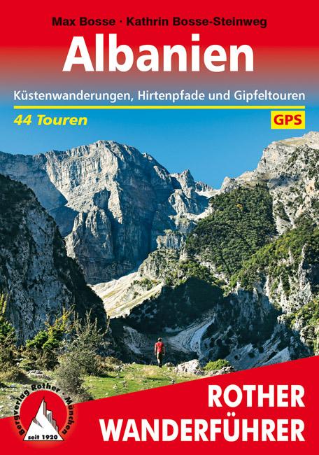 Rother wandelgids Albanien | (wandelgids Albanië) | Rother Wanderführer 9783763345304  Bergverlag Rother RWG  Wandelgidsen Albanië