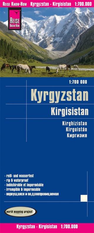 landkaart, wegenkaart Kyrgyzstan (Kirgistan, Kirgizië) 1:700.000 9783831774296  Reise Know-How WMP Polyart  Landkaarten en wegenkaarten Centraal-Aziatische republieken (Kazachstan, Uzbekistan, Turkmenistan, Kyrgysztan, Tadjikistan)