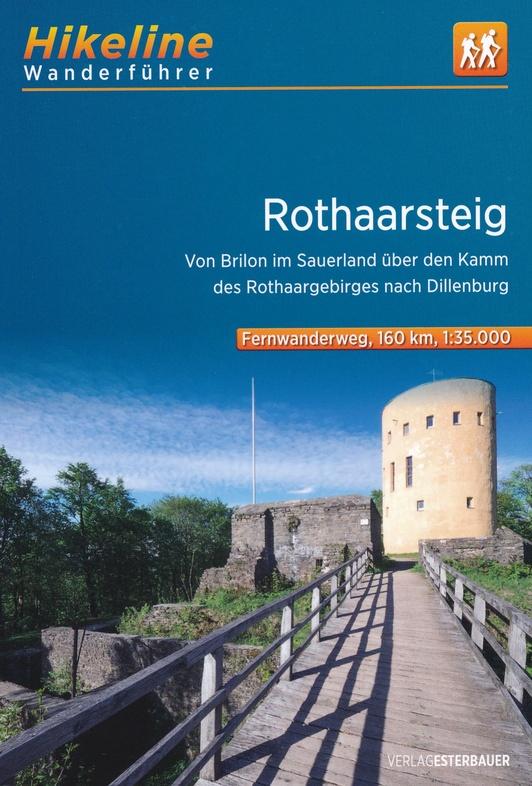 Rothaarsteig | Hikeline Wanderführer (wandelgids) 9783850007443  Esterbauer Hikeline wandelgidsen  Meerdaagse wandelroutes, Wandelgidsen Sauerland