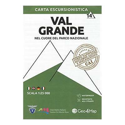 G4M-14 Val Grande | wandelkaart 1:25.000 9788899606343  Geo4Map   Wandelkaarten Turijn, Piemonte