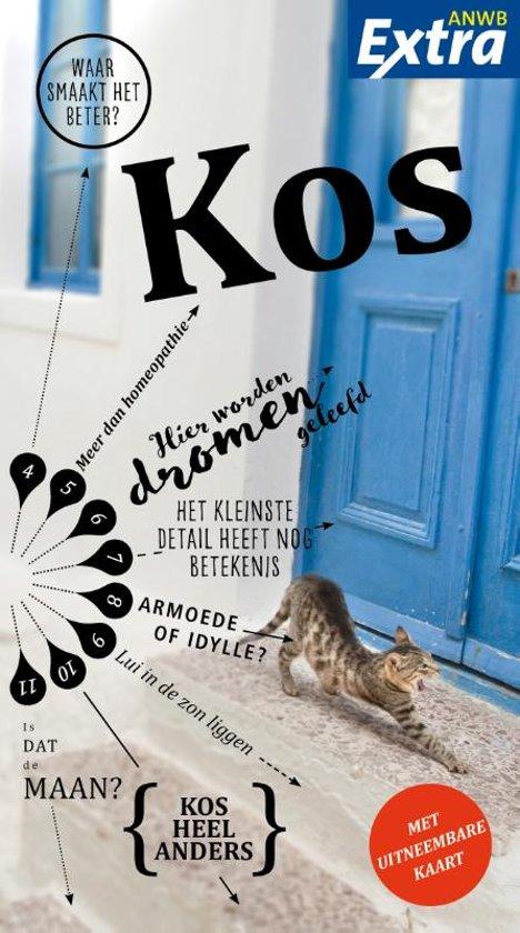 ANWB Extra reisgids Kos 9789018045364  ANWB ANWB Extra reisgidsjes  Reisgidsen Egeïsche Eilanden