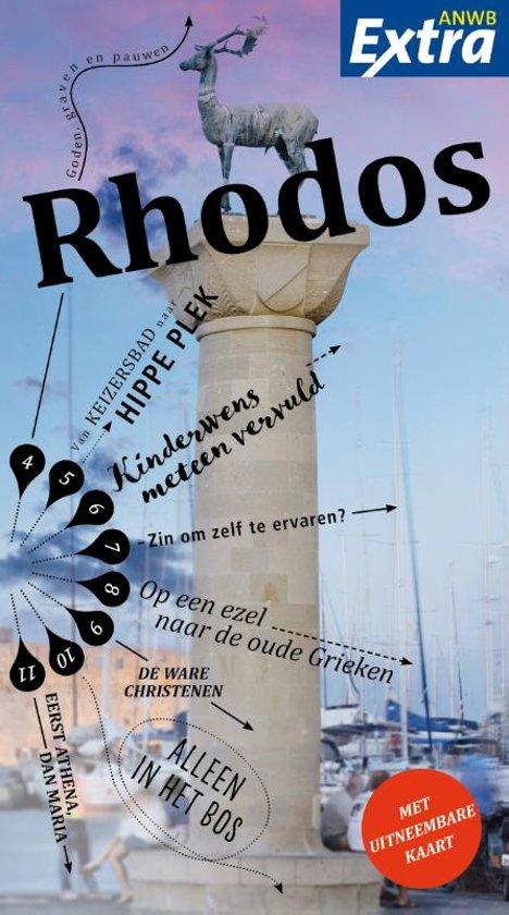 ANWB Extra reisgids Rodos (Rhodos) 9789018045371  ANWB ANWB Extra reisgidsjes  Reisgidsen Egeïsche Eilanden