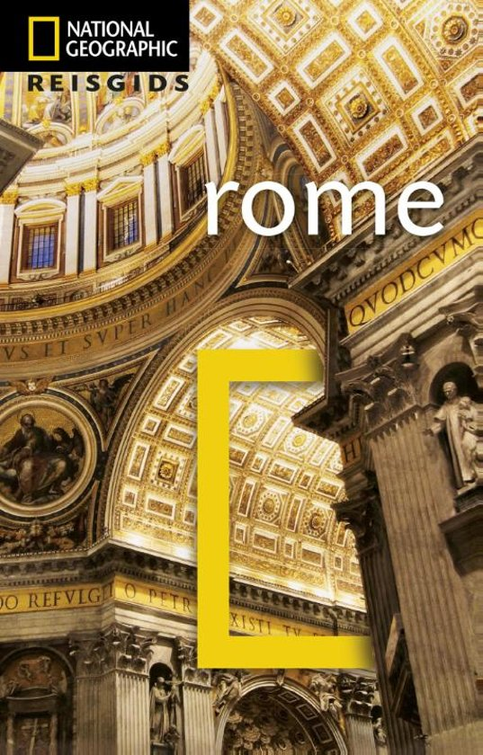 National Geographic Rome 9789021573113  Kosmos National Geographic  Reisgidsen Rome, Lazio