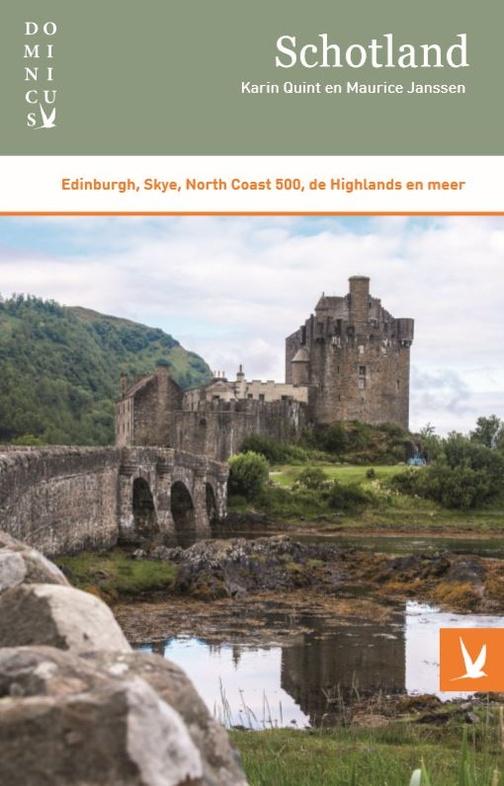 Dominicus reisgids Schotland 9789025763893 Karin Quint Gottmer Dominicus reisgidsen  Reisgidsen Schotland