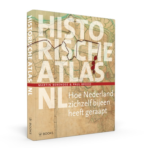 Historische atlas NL 9789462583177 Martin Berendse WBooks   Historische reisgidsen, Landeninformatie Nederland