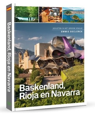 Baskenland, Rioja en Navarra 9789493160132 Emmie Declerck Edicola   Cadeau-artikelen, Culinaire reisgidsen, Reisgidsen Baskenland
