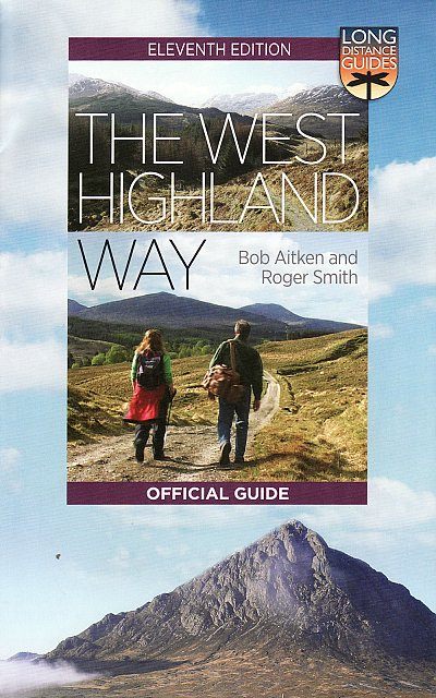 West Highland Way 'Official Guide' | wandelgids 9781780275192  Mercat Press / HMSO   Wandelgidsen de Schotse Hooglanden (ten noorden van Glasgow / Edinburgh)