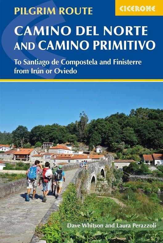 The Camino del Norte and Camino Primitivo 9781786310149 Dave Whitson, Laura Perazzoli Cicerone Press   Santiago de Compostela, Wandelgidsen Santiago de Compostela