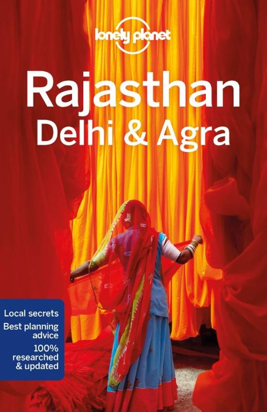 Lonely Planet Rajasthan 9781787013681  Lonely Planet Travel Guides  Reisgidsen India