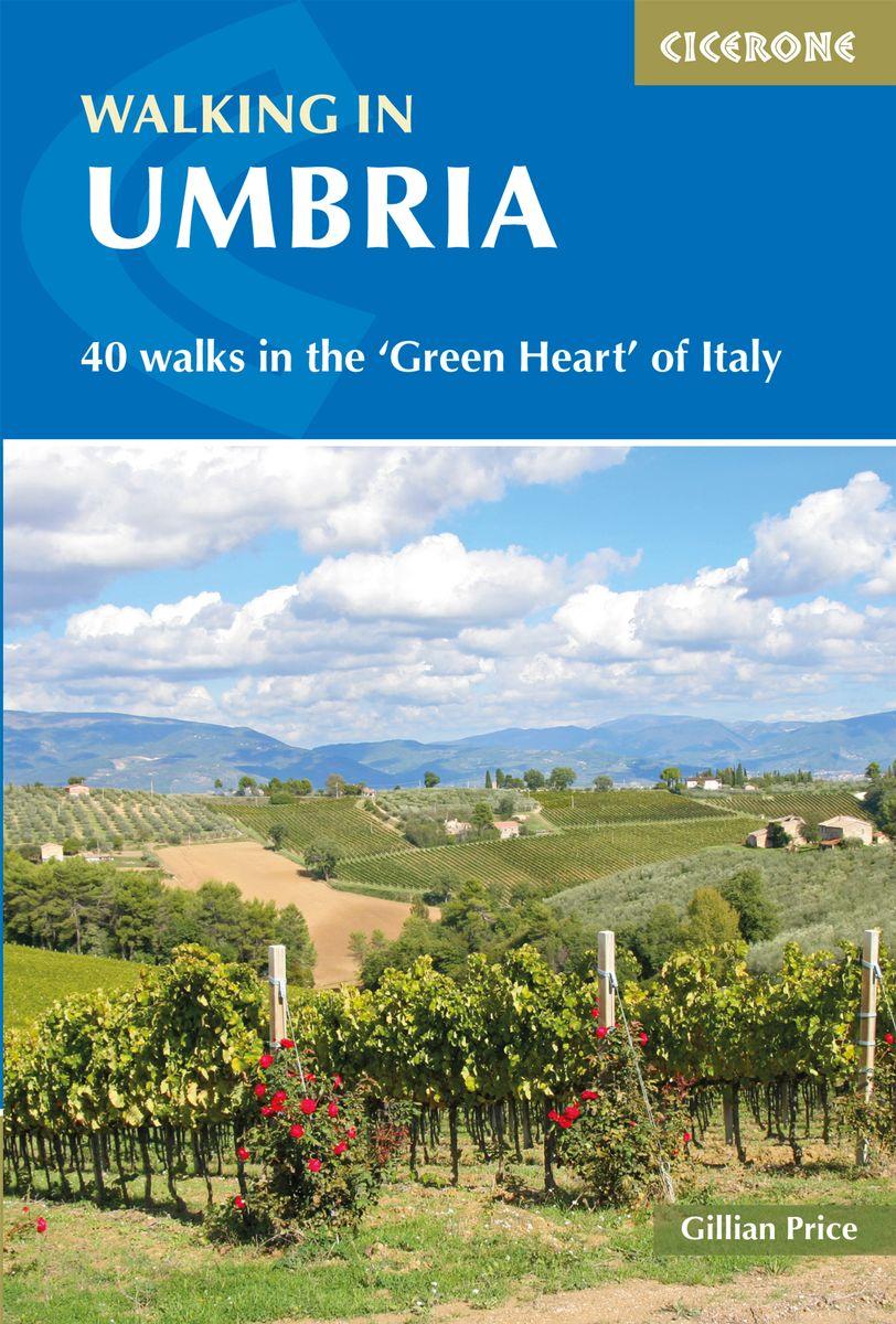 Walking in Umbria 9781852849665 Gillian Price Cicerone Press   Cadeau-artikelen, Wandelgidsen Umbrië