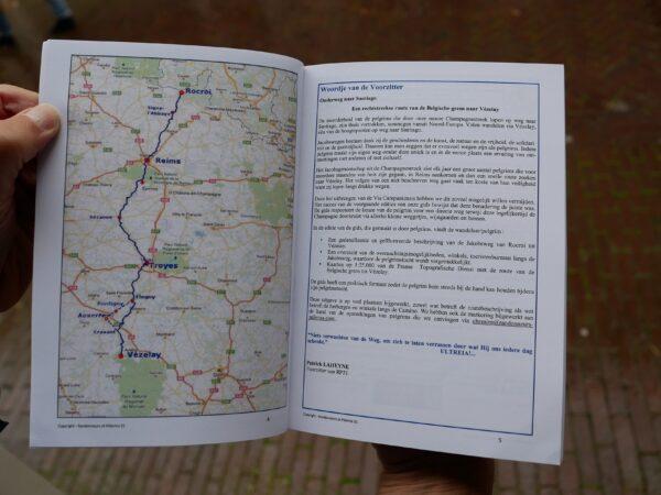 Via Campaniensis: Rocroi-Vézelay ed. 2021 | wandelgids Jacobsroute 9782954356532  Saint-Jacques de la Voie de Vézelay   Santiago de Compostela, Wandelgidsen Frankrijk