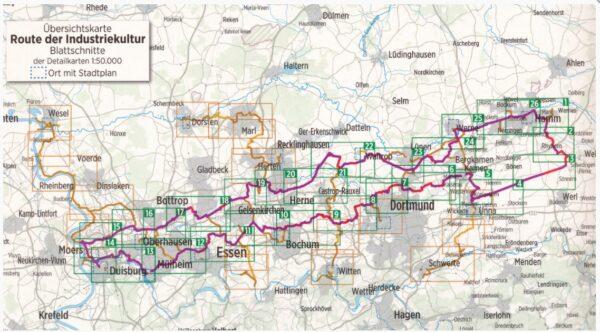 Bikeline Route der Industriekultur per Rad | fietsgids 9783850007535  Esterbauer Bikeline  Fietsgidsen Ruhrgebied