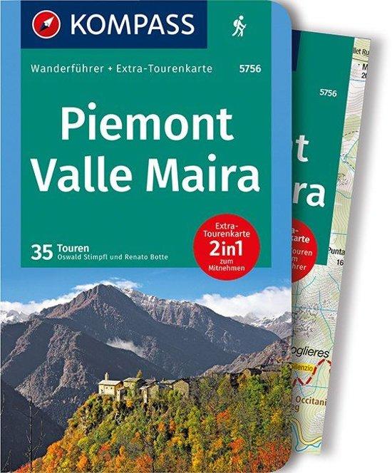 Valle Maira, Piemonte Wanderführer | wandelgids 9783990442241  Kompass   Wandelgidsen Turijn, Piemonte